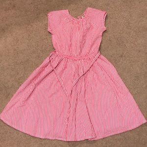 Lands' End girls dress. Size 7